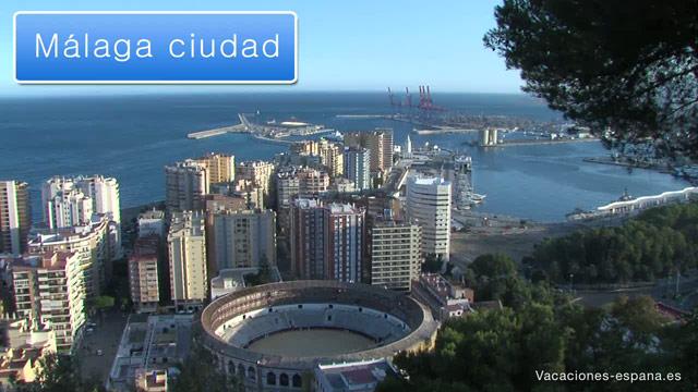 Málaga - guia de viaje de Málaga con video, fotos e